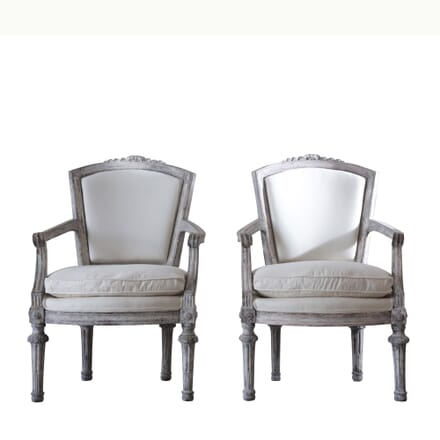 Pair of 18th Century Russian Armchairs CB128168