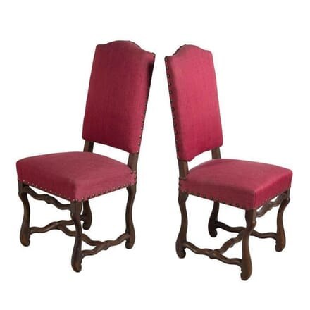 12 French Os De Mouton Dining Chairs CD2855171