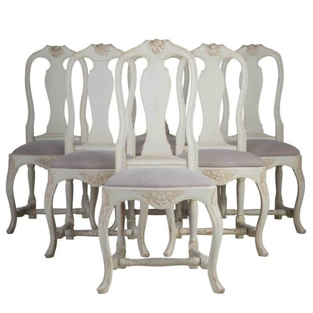 Set of Swedish Dining Chairs CD4412320