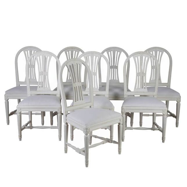 8 Swedish Dining Chairs CD4454941