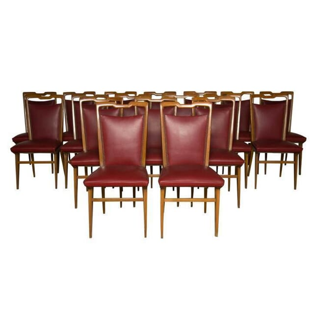 Set of 18 Italian Chairs CD5255768
