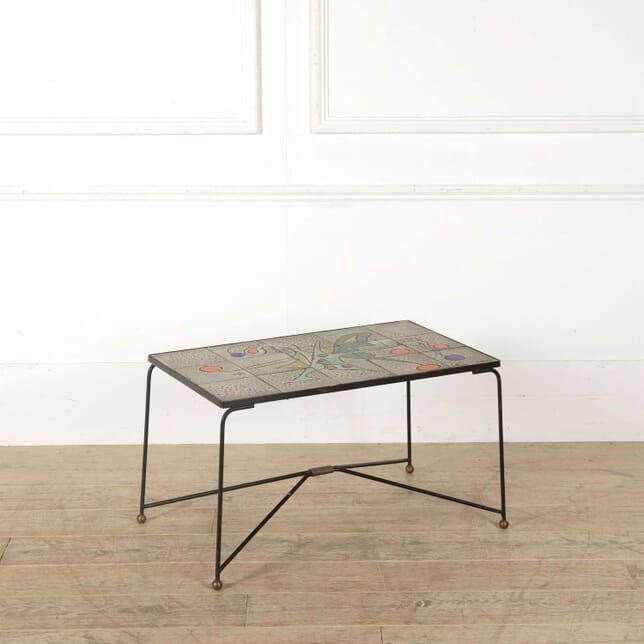 Ceramic Tile Top Table by Marius Bessone WD298590