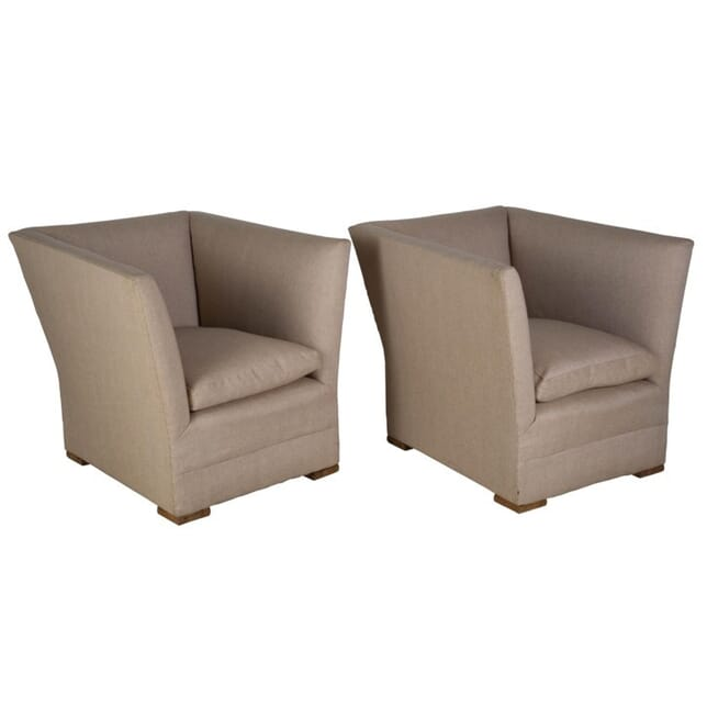 Pair of Cubist Armchairs CH057349