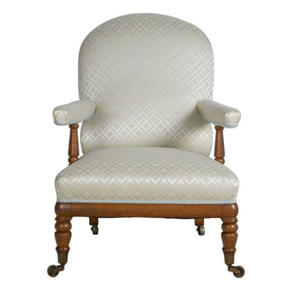Birdseye Maple Open Armchair CH1055263