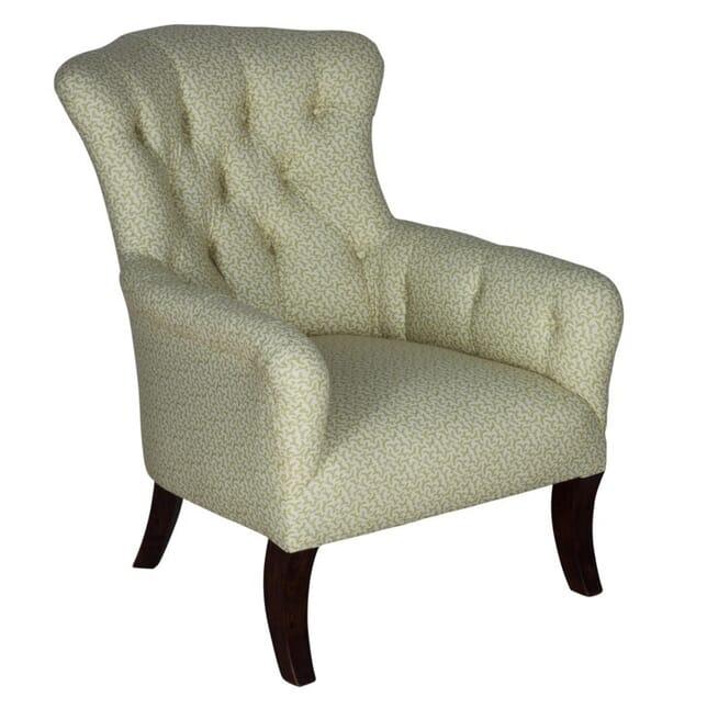 Regency Period Button Back Armchair CH107681