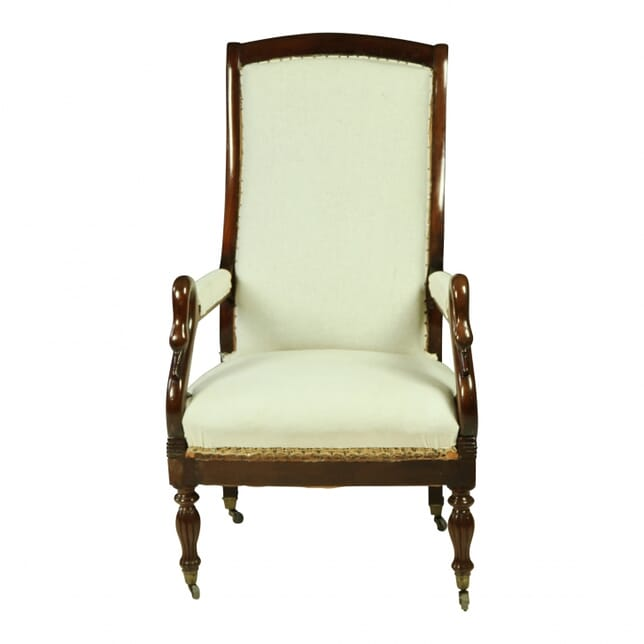 English Mahogany Chair CH110017