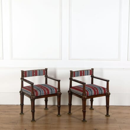 Pair of Danish Neo Classical Armchairs CH274402