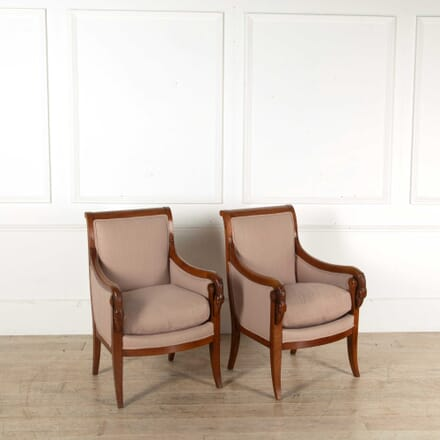 Pair of Early 19th Century French Armchairs CH398363