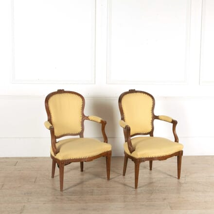 Pair of French Fauteuils CH398364