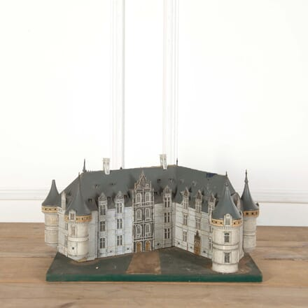 Miniature Chateau Model With Light Fitting DA558667