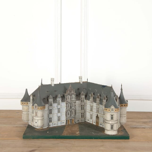 Miniature Chateau Model With Light Fitting DA558667