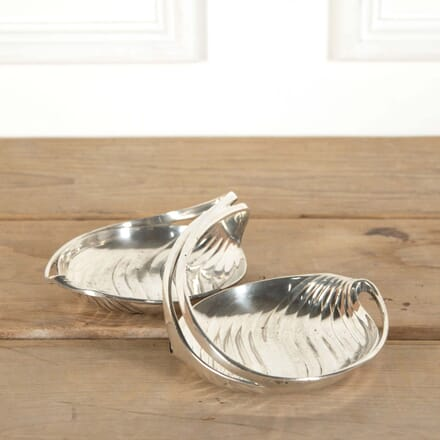 Christofle Gallia Silver Plated Duo Serving Dish DA588628