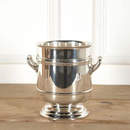 Christofle Silver Plated Champagne Wine Cooler Bucket DA588615
