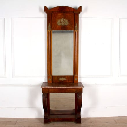 19th Century Console and Pier Mirror CO1661102