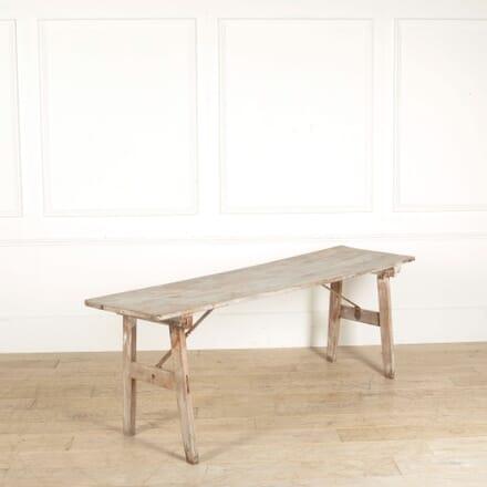French Folding Trestle Table CO717779