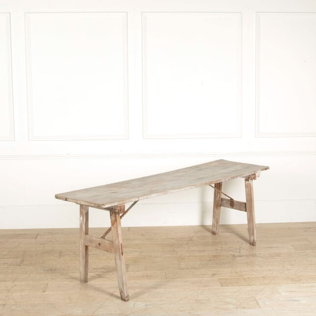 French Folding Trestle Table CO717779