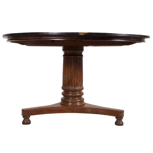Colonial Padouk and Ebonised Centre Table TC018179