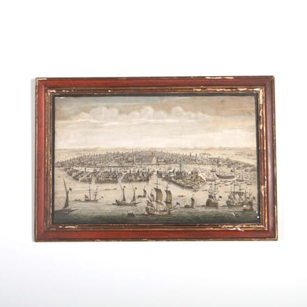 Coloured Engraving Venice WD288517