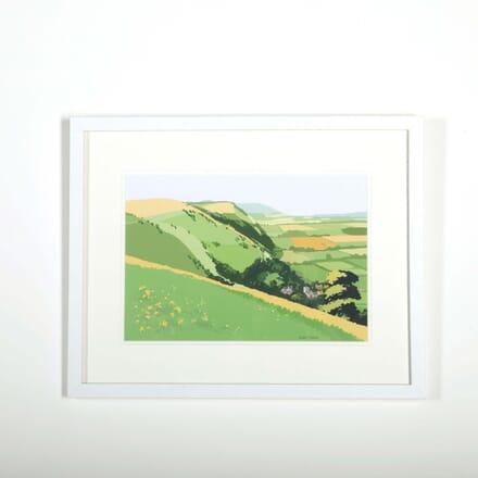 Cotswold Scene by Alan Tyers WD288528