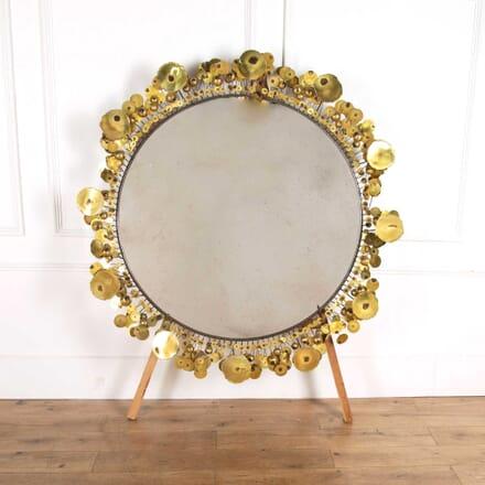 Curtis Jere Large Round Mirror MI578241