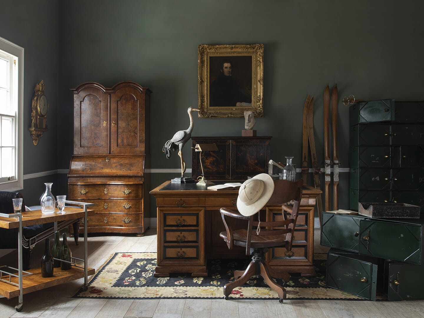 Curate the ultimate antique study