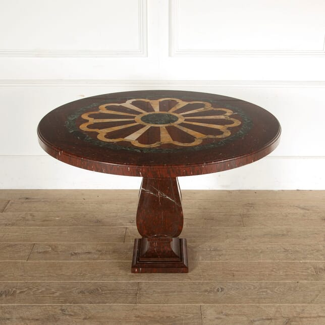 French Marble Inlaid Centre Table TC4511022