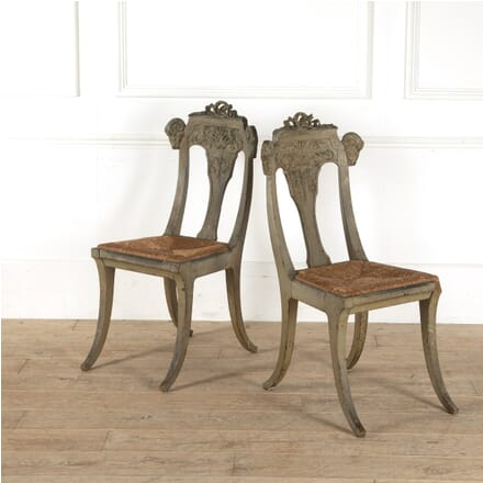 French Rams' Heads Chairs CH6011089