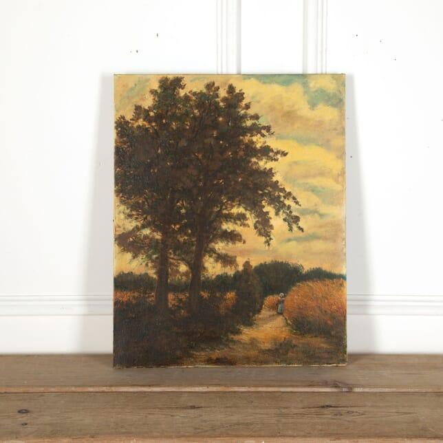 Pastoral Landscape Painting WD6813040