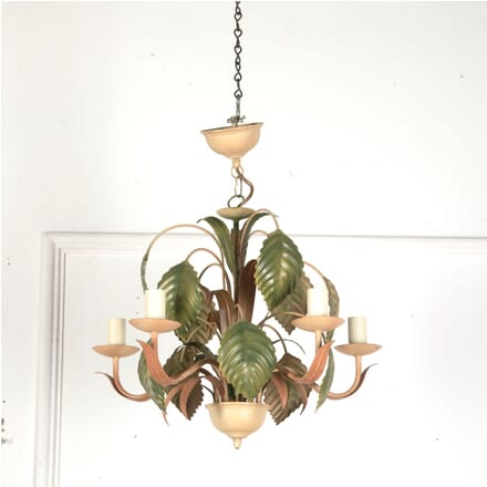 Six Arm French Toleware Chandelier LC6813041
