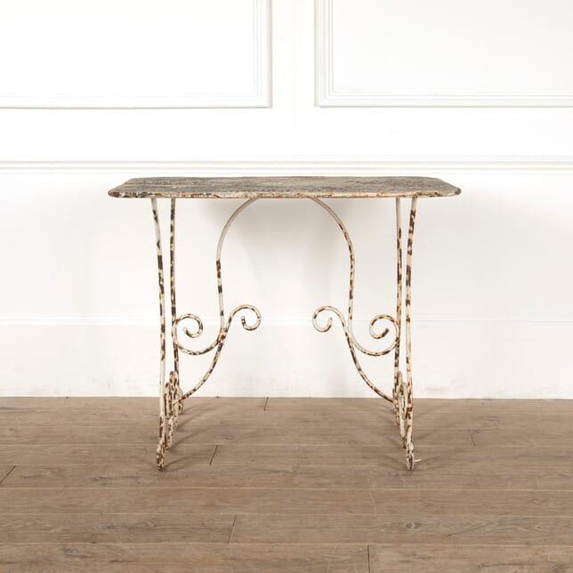 French Iron Garden Table GA2011213
