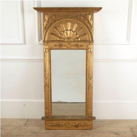 Large Swedish 19th Century Empire Style Mirror MI8811386