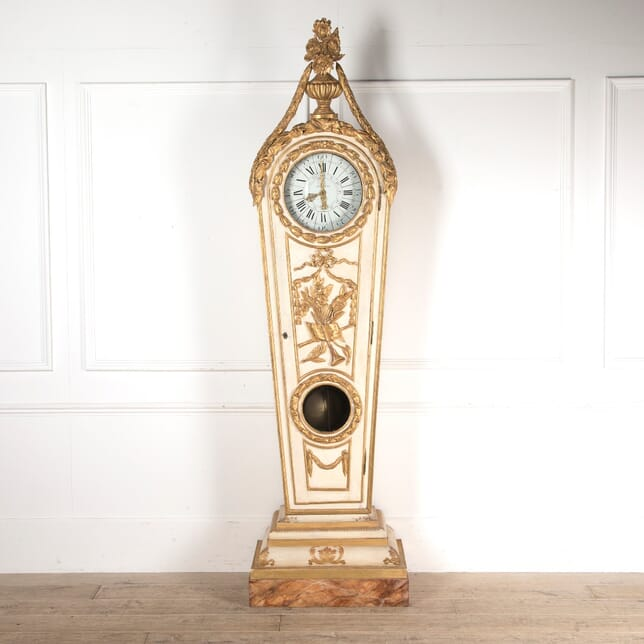 18th Century Louis XVI Period Decorated Longcase Clock DA035278