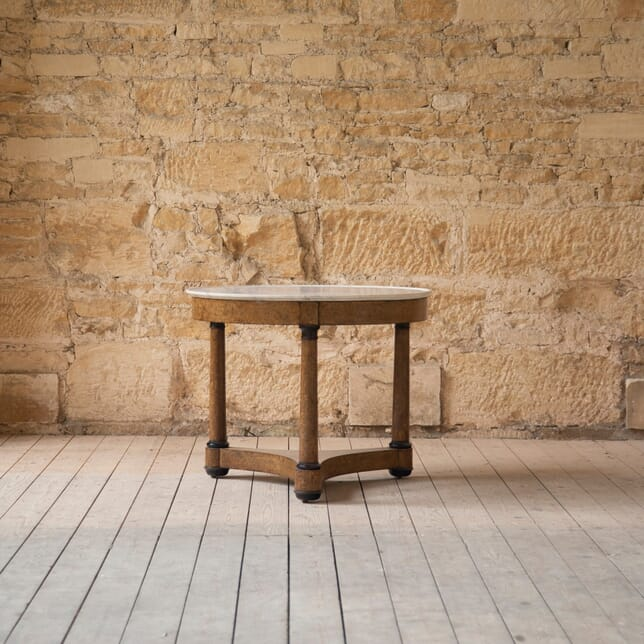 19th Century French Burr Walnut Centre Table TC0159622