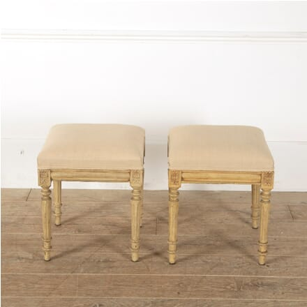 Pair of Louis XVI Revival Stools ST1512801