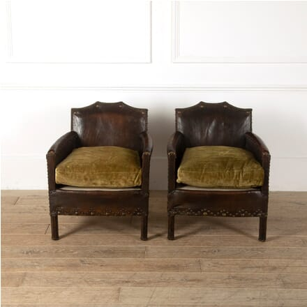 Pair of Petite Club Chairs CD1511548