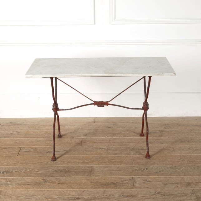 French Iron Table with Satyr Masques GA1511566