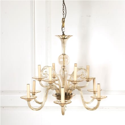 12 Branch Bohemian Glass Chandelier LC2110754