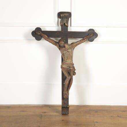 16th Century Carved Crucifix DA7316966