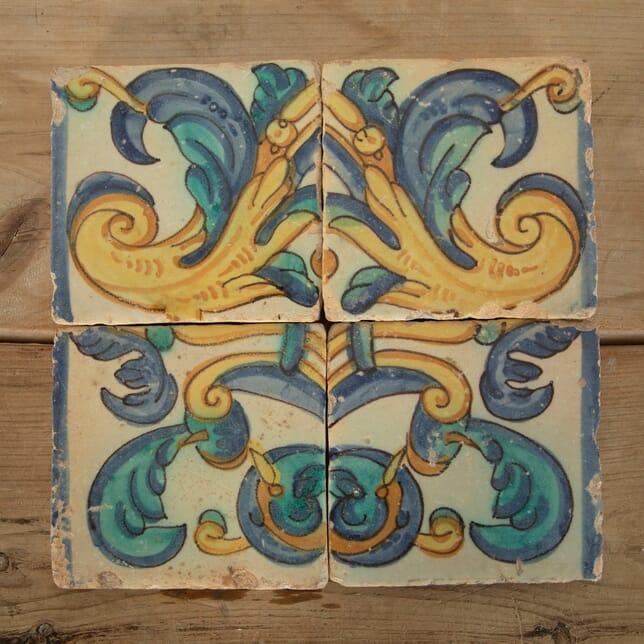 17th Century Spanish Tiles DA9011654
