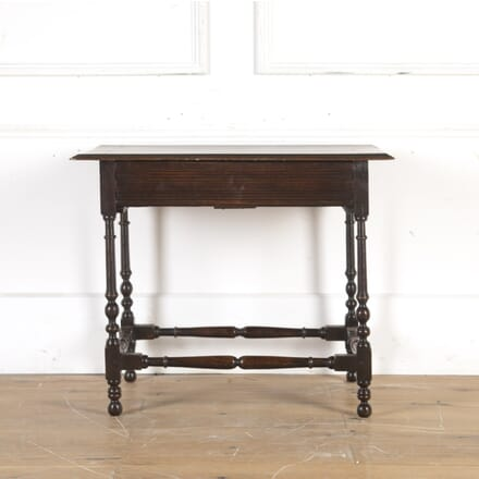 17th Century Oak Side Table CO1014339