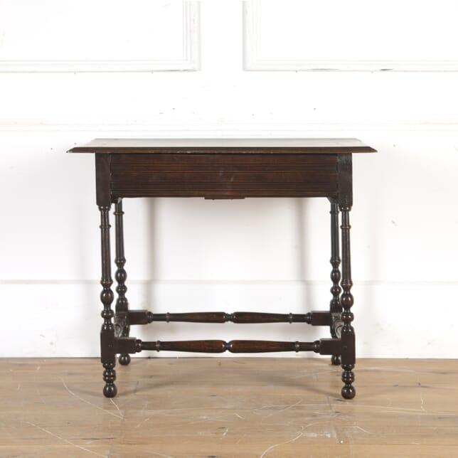 17th Century Oak Side Table CO1014339