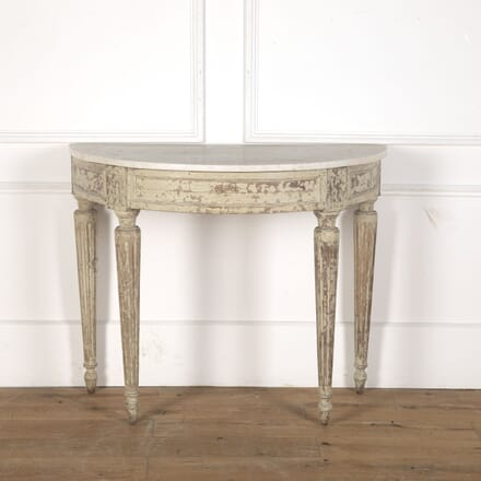 18th Century French Painted Console CO9012939
