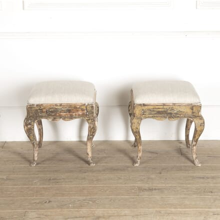 18th Century Swedish Stools ST6012844
