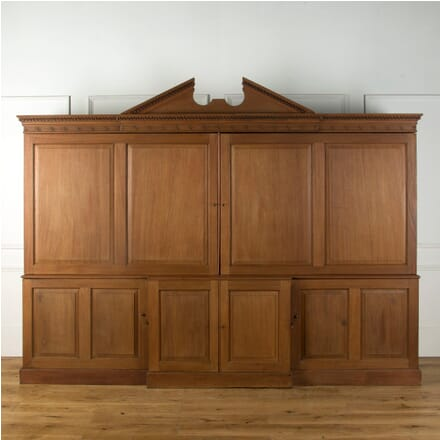 18th Century Architectural Mahogany Estate Cupboard CU109303
