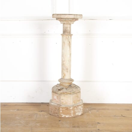 18th Century Carved Italian Pedestal BK8114185