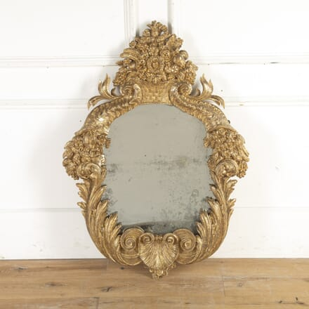 18th Century Ornate Gilt Mirror MI1015621