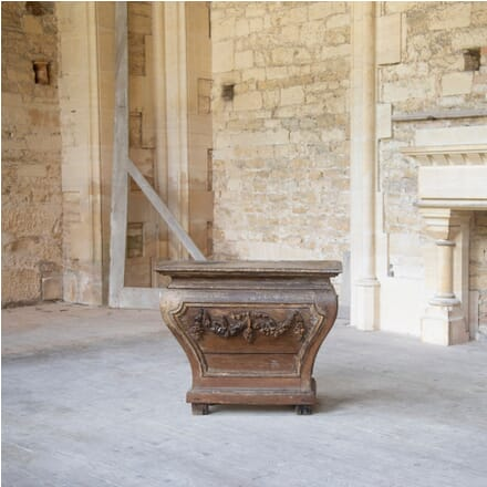 18th Century Carved Oak Console Table CO478832