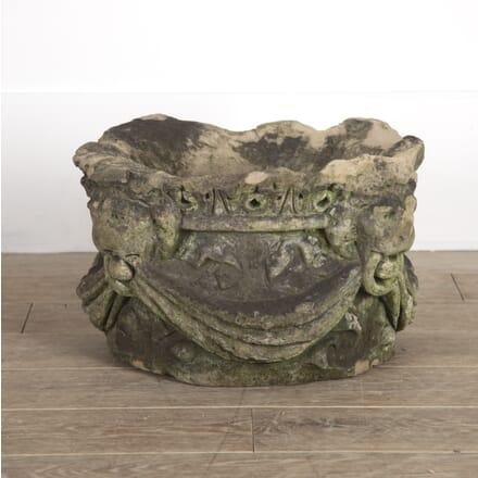 18th Century Carved Stone Capital GA0914397