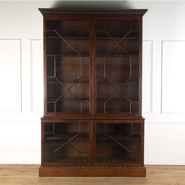 18th Century Chippendale Period Mahogany Bookcase BK105377
