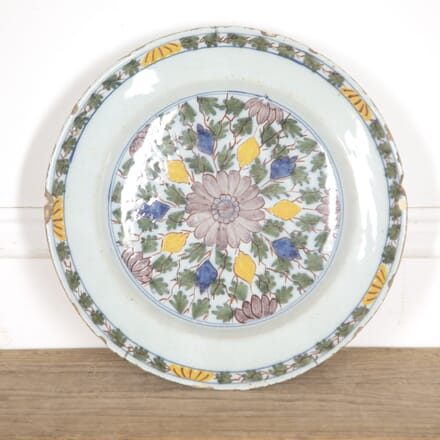 Dutch 18th Century Delft Plate DA5216364